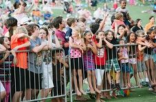 Children at Summer Sounds Concert